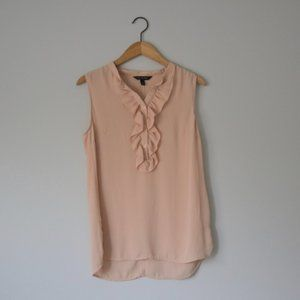 Banana Republic Peach Pink Women's Blouse